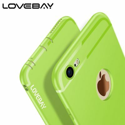 Ultra Thin Slim Shockproof Matte Soft TPU Case Cover Skin For iPhone 6 6s 7 Plus