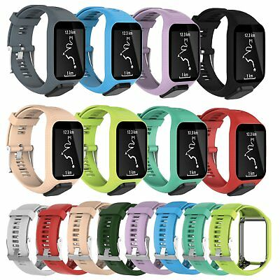 Soft Silicone Rubber Replacement Watch Band Strap ForTomTom Runner 2&3 Wristband