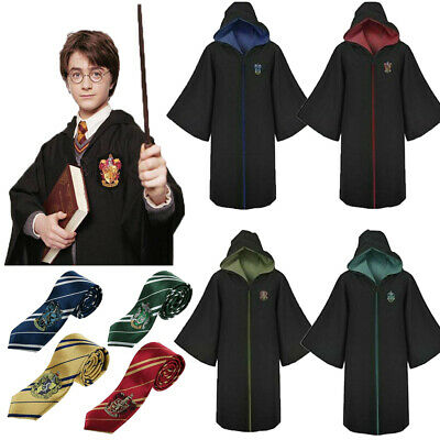 Harry Potter Hogwarts Glasses Cape Cloak Robe Cosplay Costume Kids Boys Gifts