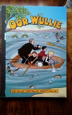 D.c.Thomson and co oor wullie book
