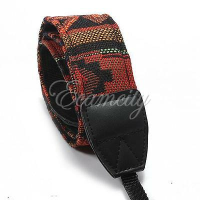Hippie Universal Camera Shoulder Neck Strap For SLR Nikon Canon Sony Panasonic