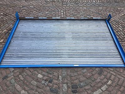Electric Roller Shutter Door, Galvanised  4.2m X 2.5m High, Never Used