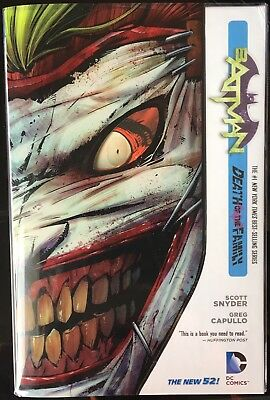 Batman (new52) Vol 3 Death Of The Family Hardcover