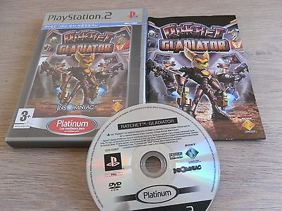 JEU PS2 RATCHET-GLADIATOR complet
