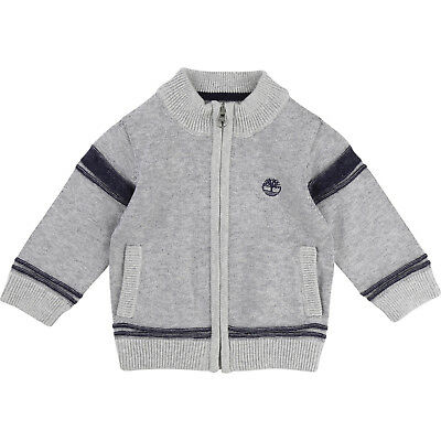 Timberland Cardigan Jersey Size 12 M, 18 M, 2 Years, 3 Y, 4 Yrs new Winter 2017