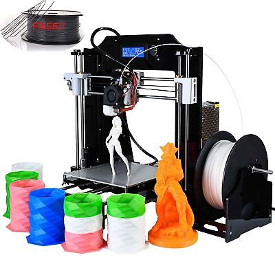 NEW High Precision DIY 3D Printer With 1kg 1.75mm PLA Filament FREE High-tech F7