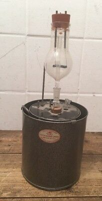Rare Vintage Griffin & George Calorimeter Science Glass Experiment **