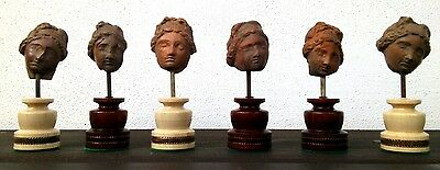 Great Collection Of Ancient Greek- Roman Terracota Heads