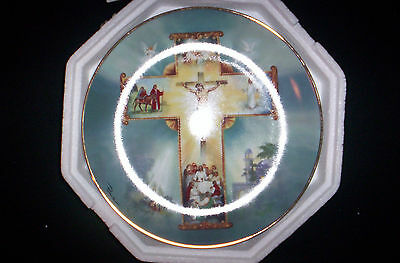 Danbury Mint Collectible Plate Life Of Christ