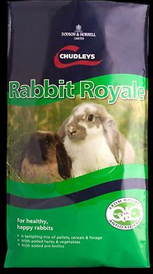 New High Quality Cudleys Rabbit Royale Rabbit & Guinea Pig Feed 15kg