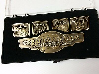 2005 Harley Davidson HOG Great Lakes Tour The Final Chapter Pin Set