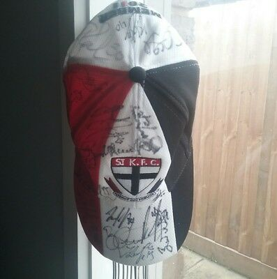 St Kilda Cap With Over 35 Autographs