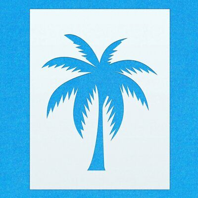 Palm Tree Exotic Plant Mylar Airbrush Painting Wall Art Crafts Stencil Two