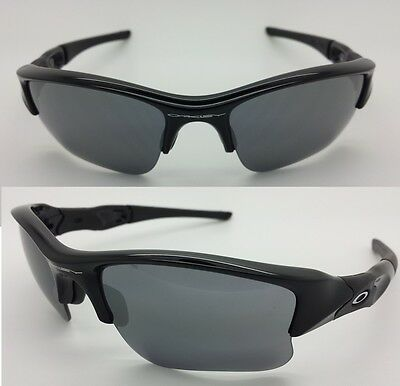 0640b820990 Oakley Flak Jacket Xlj Jet Black L Black Iridium Polarized ...