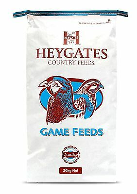 New High Quality Heygates Quail & Partridge Layer/Breeder Game Bird Feed 20kg