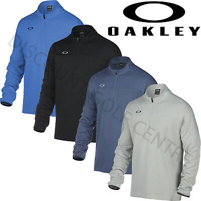 Oakley Golf Mens Gridlock Pullover Half Zip Performance Sweater Jumper
