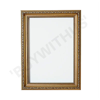 Ornate Swept Shabby Chic Picture Frame Photo Frame Poster Decor Gold Frame