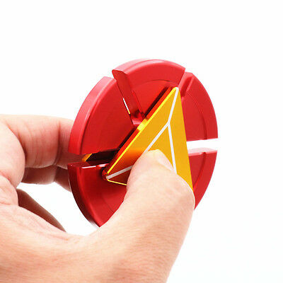 Iron Man Metal Fidget Hand Spinner Gyro Toy EDC Relax Game Focus ADHD Autism#2