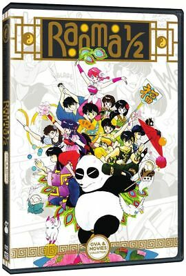 Ranma 1/2: Complete Anime OVA Series + 3 Movies Collection Box / DVD Set NEW!