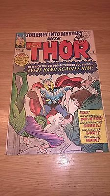 Marvel Comic Journey into Mystery Thor 110 November 1964