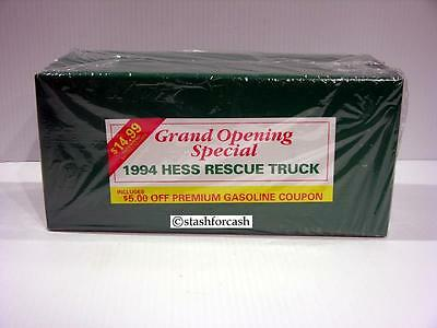 1994 Hess Rescue Truck - Rare Manager's Gift Wrapped Edition