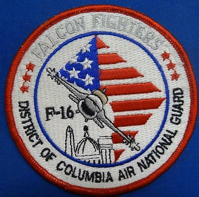 F-16 Falcon Fighters - Washington D.c. Air National Guard Patch Dc Ang  #usp2255