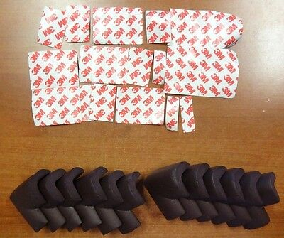 12 Pc Corner Cushion Protectors Safety Baby Bumpers Foam Strip (M987)