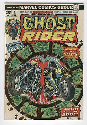 Ghost Rider #7 Death Duel Stunt-Master Bronze Age Horror Classic FN