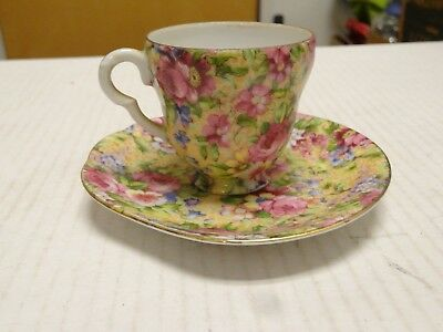 Demitasse cup and UNIQUE saucer Made in Occupied Japan