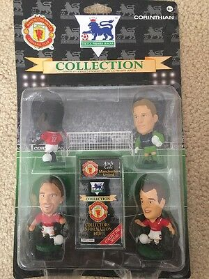 Corinthian Collection Manchester United FC Sharpe, Cole, Schmeichel, Pallister