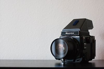 Mamiya RZ67 Pro II Medium Format SLR Film Camera with 50mm Lens