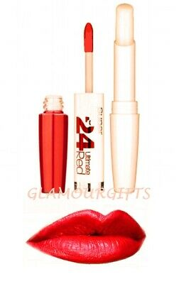 Maybelline 24 Hour Superstay Lip Color Lipstick  565 Ruby Rush  BNIB