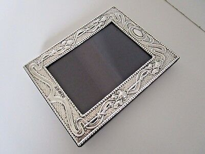 Finest Quality Silver Picture / Photo Frame..Art Nouveau Style..London 2015..