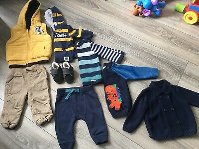 Baby Boy Bundle 3-6 Months Clothes, Sleepsuits, Shoes