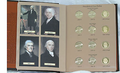 2007-2011 Presidential Dollar P D & S Complete 60 Coin Set BU & Proof President