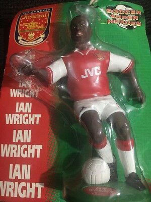 Ian Wright Arsenal Soccer Super Heroes Figurine Vivid Imaginations