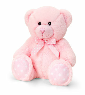 Personalised Teddy Bear - Great Personalised Christening Gift - New Baby Girl