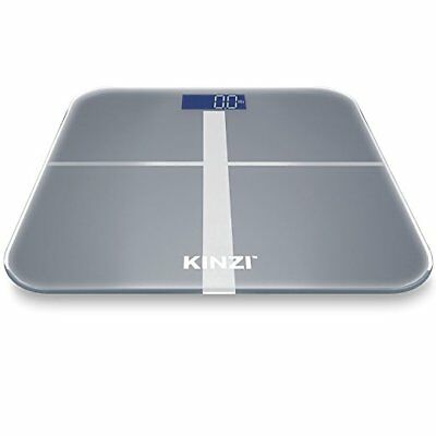 Kinzi Precision Digital Bathroom Scale w/ Extra Large Lighted Display, 400 lb. C