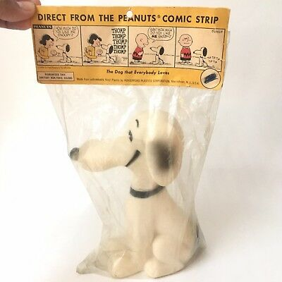 Original Vintage Rare 1956 Hungerford Snoopy Doll sealed in original package