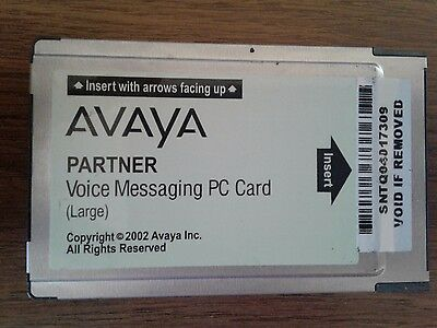 Avaya  Partner, Voice Messaging PC Card (Large)