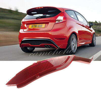2009-2014 For Ford Fiesta Mk7 Hatchback Right Side Rear Bumper Reflector Cover