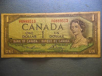 Bank  of  Canada  1954  One Dollar