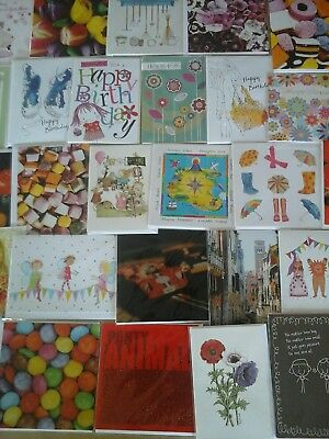 50 birthday cards, joblot , wholesale , car boot.