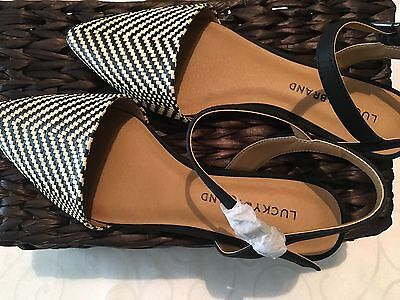 NEW Women's Lucky Brand Pointy Toe Flats Size 9