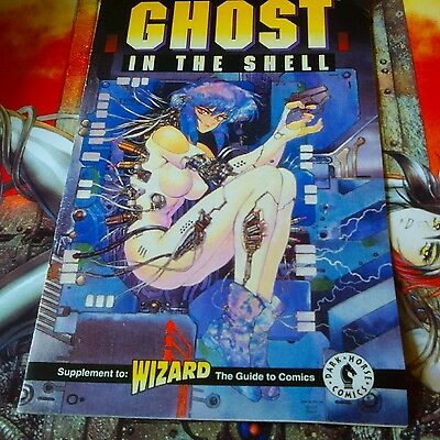 GHOST IN THE SHELL Wizard Magazine Exclusive (1995)! FREE SHIPPING!