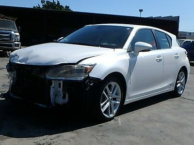 2017 Lexus CT 200h 200h 2017 Lexus CT 200h HB Damaged Salvage Rebuilder Only 384 Miles Economical L@@K!!
