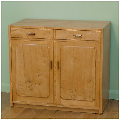 An Arts & Crafts Cotswold School elm sideboard by David Gregson