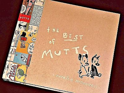 *The BEST of MUTTS* by Patrick McDonnell (2007 Hardcover) ~ Mutts* Comics