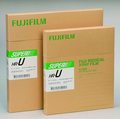 Fuji Green HR-U X-ray Film, 14x17, box