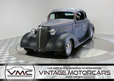 1936 Chevrolet 5 Window Coupe Hot Rod 1936 Black Hot Rod!
